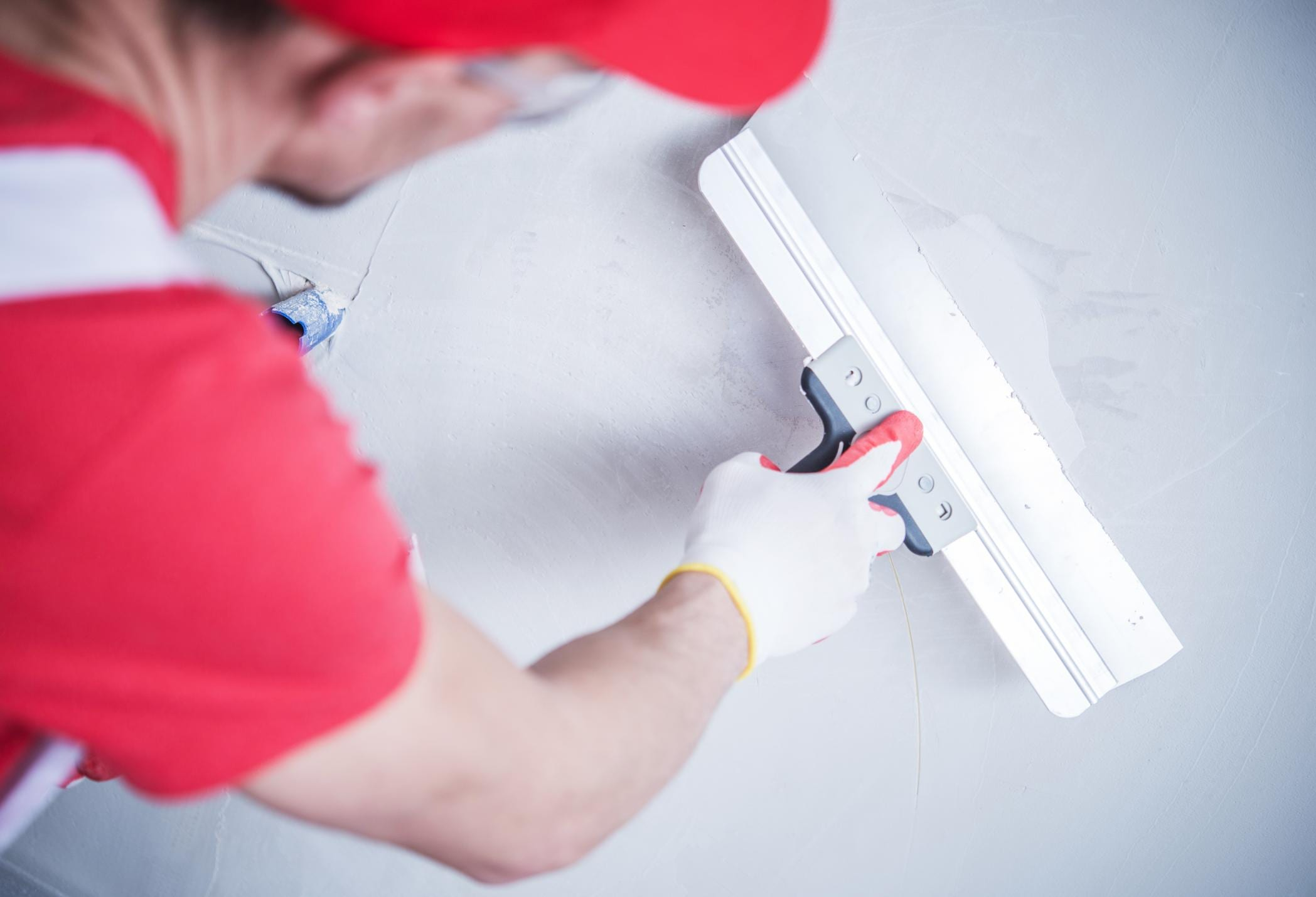This is a picture of a drywall patching and repairs.